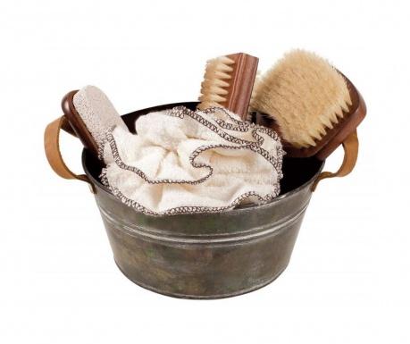 4-delni set izdelkov za nego telesa in košara SPA And Wellness