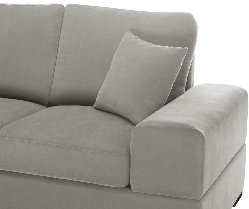 Dasha Light Grey Háromszemélyes kihúzható kanapé