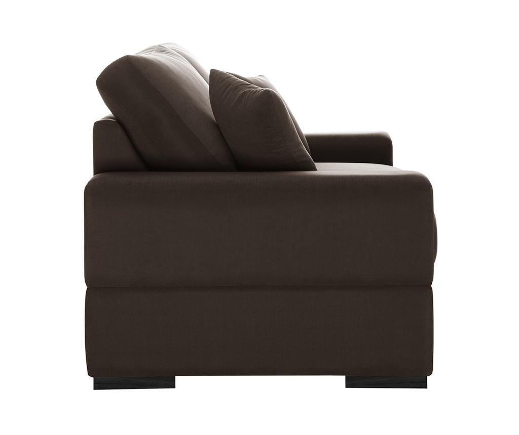 Dasha Chocolate Háromszemélyes kihúzható kanapé
