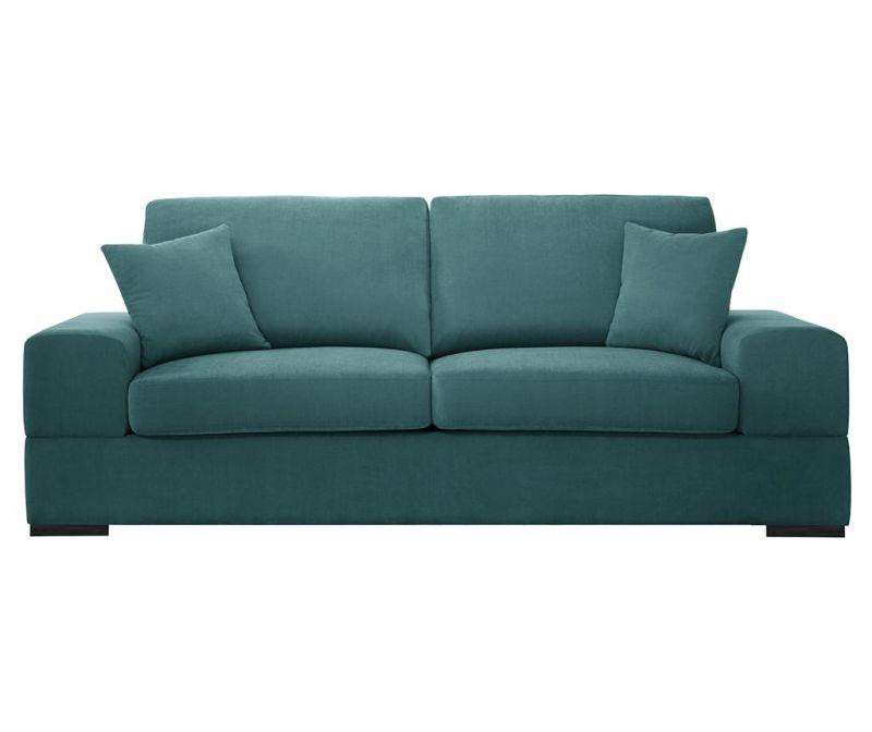 Dasha Light Blue Háromszemélyes kihúzható kanapé