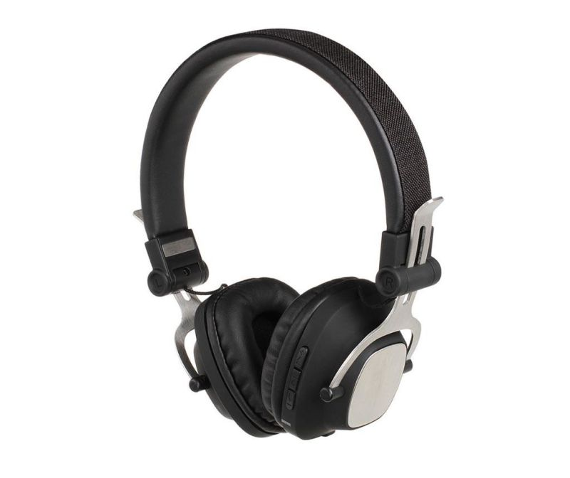 Compatible Black Bluetooth fejhallgató mikrofonnal