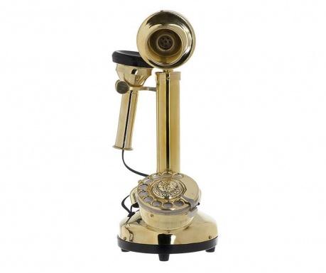 Dekoracija Golden Antique Telephone