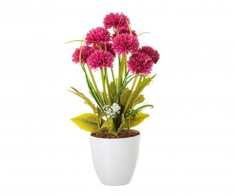 Sztuczna roślina w doniczce Crysanthenum Purple