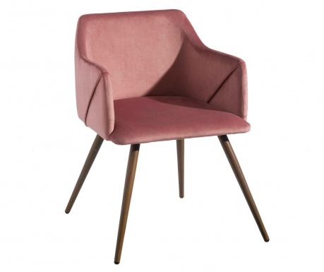 Stolička Colette Square Pink