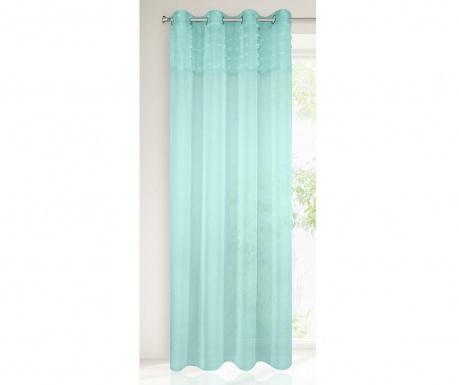 Záclona Yasmin Mint 135x250 cm