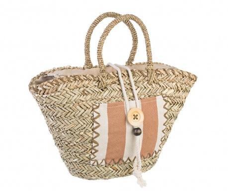 Plážová taška Kos Brown
