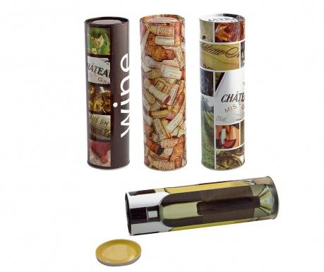 Sada 4 dárkových krabiček na láhev Wine Bliss