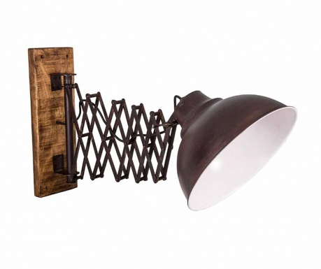 Nástěnné svítidlo s nastavitelným ramenem pantograf Jail