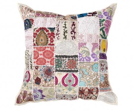 Διακοσμητικό μαξιλάρι Yantra Beige Patch 52x52 cm