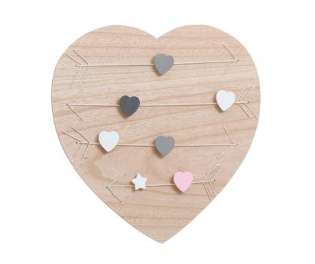 Memo tabuľka Hearts