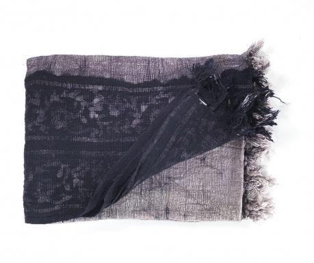 Κουβέρτα Yantra Black Grey 125x180 cm