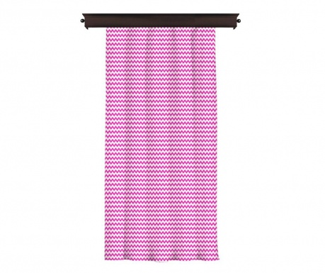Zastor Border Purple 140x260 cm