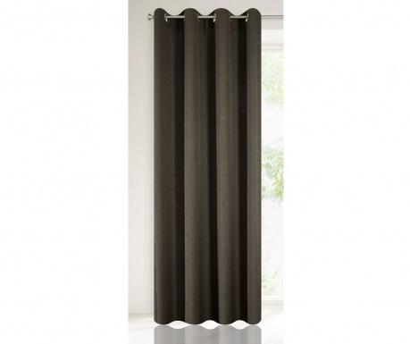 Závěs Dakota Dark Brown 140x250 cm