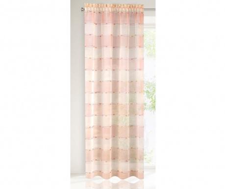 Záclona Alamea Salmon 140x250 cm