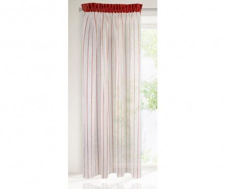Záclona Arno Cream Red 140x250 cm