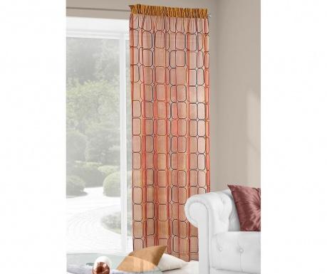 Záclona Lido Orange 140x250 cm