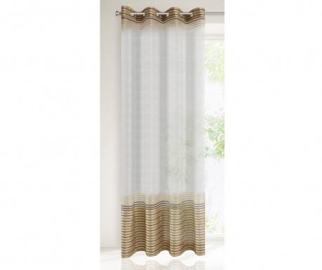Záclona Evi Beige Brown 140x250 cm