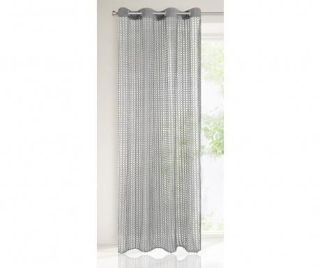 Záclona Agnes Steel 140x250 cm