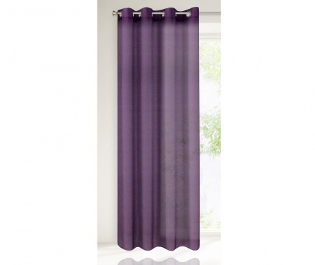 Záclona Rebecca Purple 135x250 cm