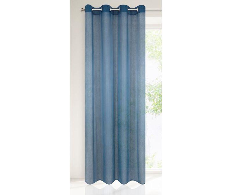 Rebecca Dark Blue Függöny 140x250 cm