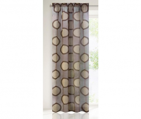 Záclona Wera Brown 140x250 cm