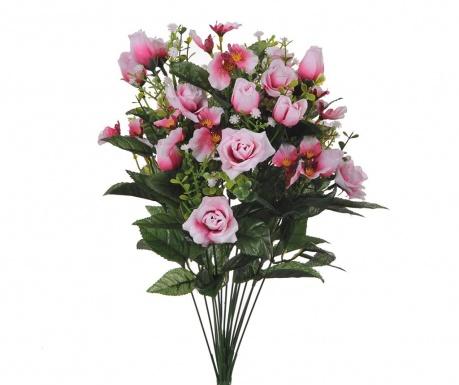 Kytice z umělých květin Rose and Orchids Pink