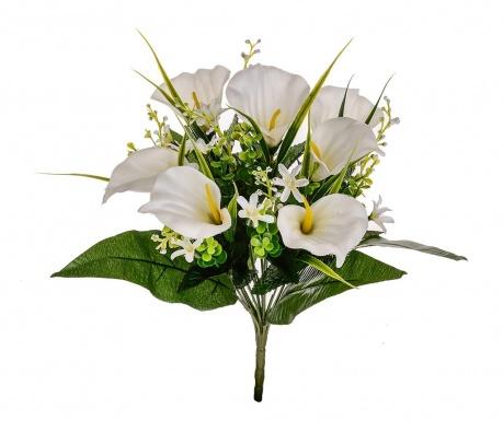 Kytice z umělých květin Calla Cream