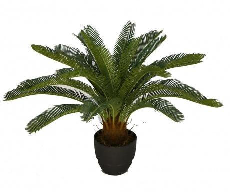 Umělá rostlina v květináči Sago Palm
