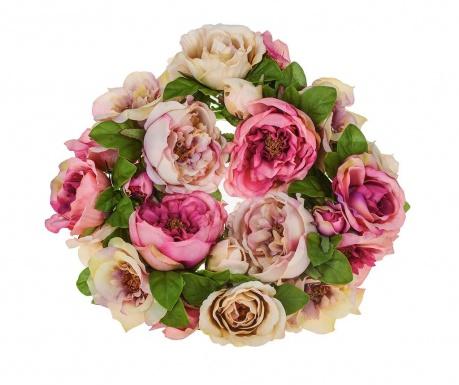 Kytice z umělých květin Roses Wreath