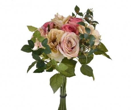 Kytice z umělých květin Rose Mauve
