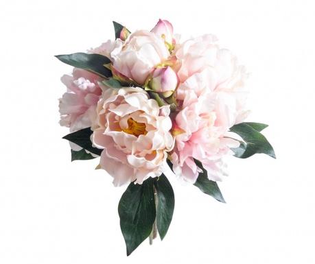 Kytice z umělých květin Peony Pink