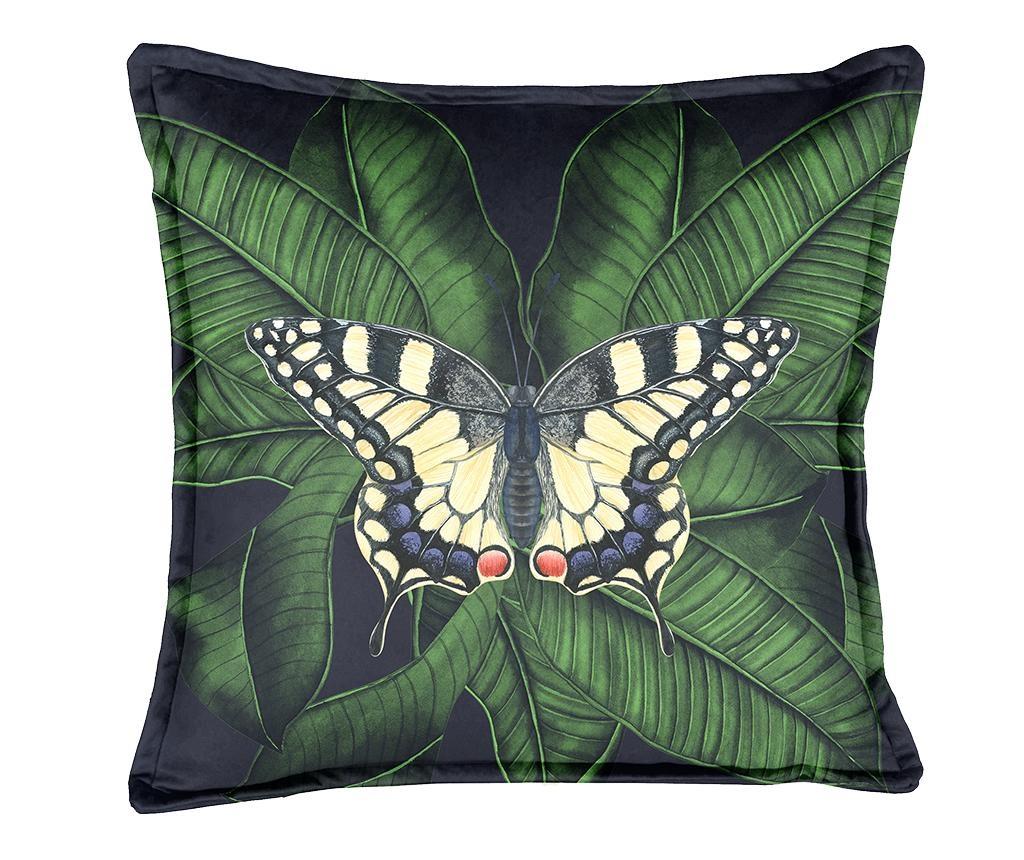 Perna decorativa Night Butterfly 45x45 cm