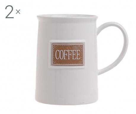 Set 2 skodelic Coffee Vintage