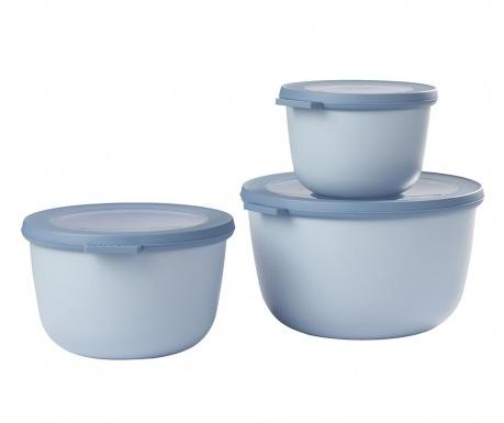 Sophi Blue 3 db Ételtároló