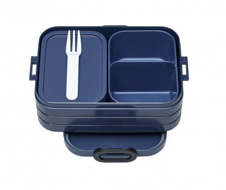Bento Blue Ételtároló doboz 1 evőeszközzel S