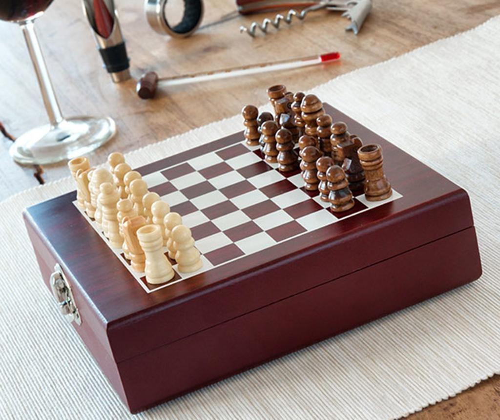 Set - igra šah in dodatki za vino Kizzy
