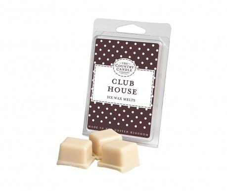 Комплект 6 броя ароматизиран восък Polka Dot Club House
