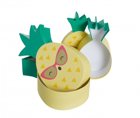 Pineapple 3 db Doboz fedővel