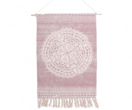 Dekoracja ścienna Mandala Light Pink
