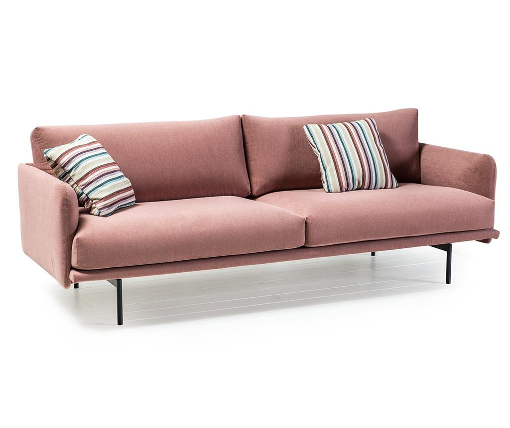 Canapea 3 locuri Uma Koseling Powder Pink