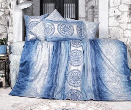 Komplet pościeli King Satin Supreme Colorada Blue