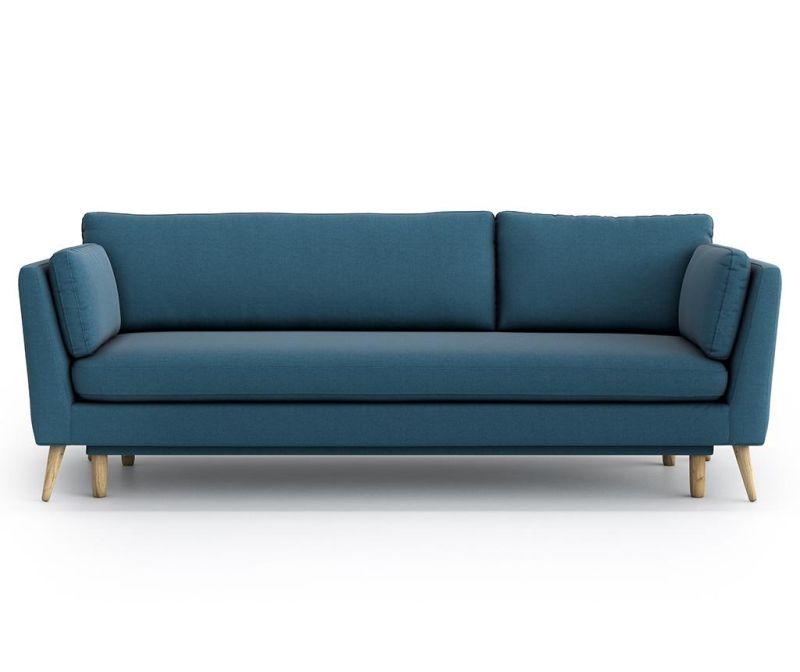 Canapea extensibila 3 locuri Jane Olaf Blue