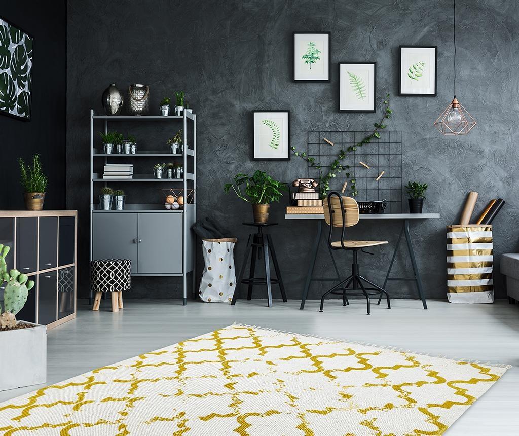 Covor My Stockholm Mustard 60x110 cm