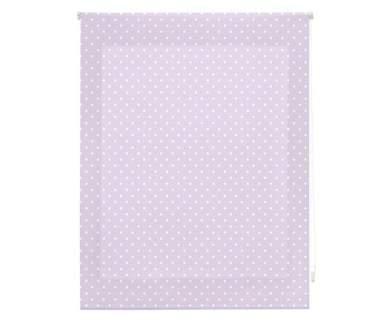 Jaluzea tip rulou Dots Purple 100x250 cm