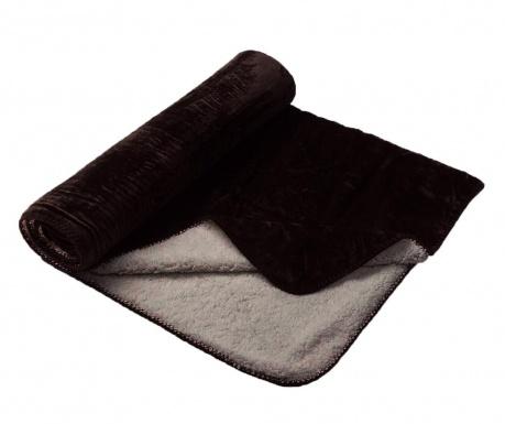 Κουβέρτα Andes Dark Brown 130x180 cm