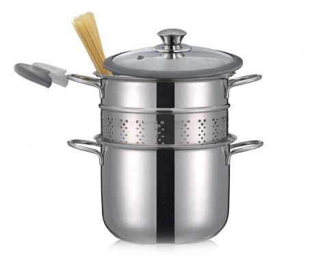 Κατσαρόλα με καπάκι για ζυμαρικά Premium 4 L