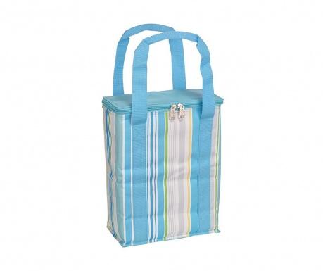 Θερμομονωτική τσάντα Blue Stripes 6 L