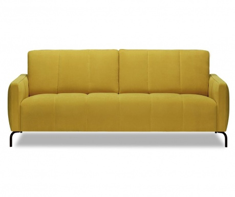 Xeen Cosmic Yellow Háromszemélyes kanapé