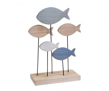 Fish Blue Dísztárgy