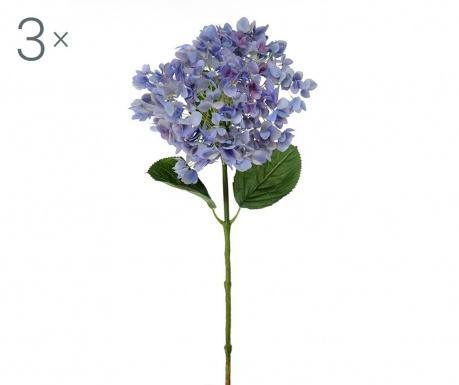 Ortensia Giant Blue 3 db Művirág